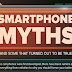 Smartphone Urban Legends That Have You Fooled #infographic
