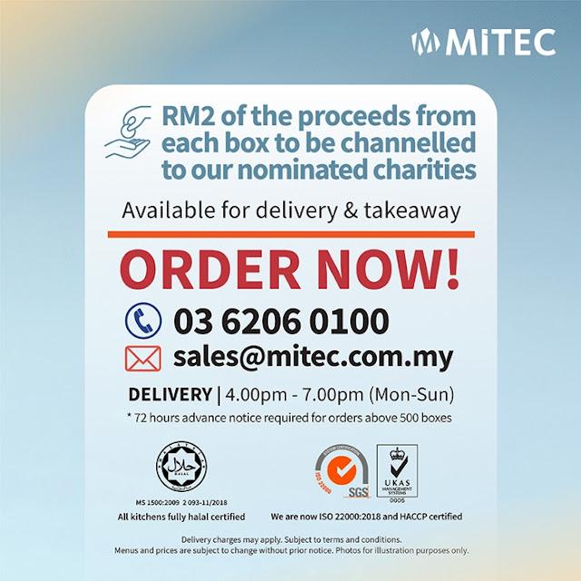 MITEC Ramadan Citarasa Kampung Delivery & Takeaway, MITEC, Ramadan Citarasa Kampung, Ramadan Menu, Ramadan Set, Pack of Kindness, Food
