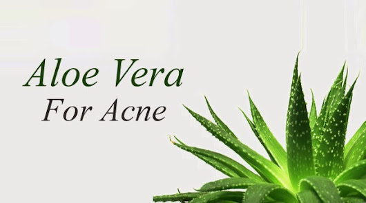 Declare war on your Acne with Aloe Vera