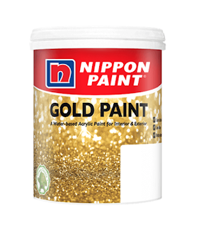 Dazzling GOLD Paint from Nippon Paint!