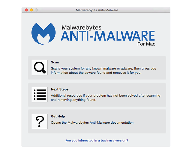 Malwarebytes Anti-Malware For Mac screen-shot