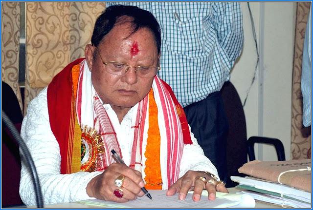 Mani Kumar Subba former Congress parliamentarian passed away