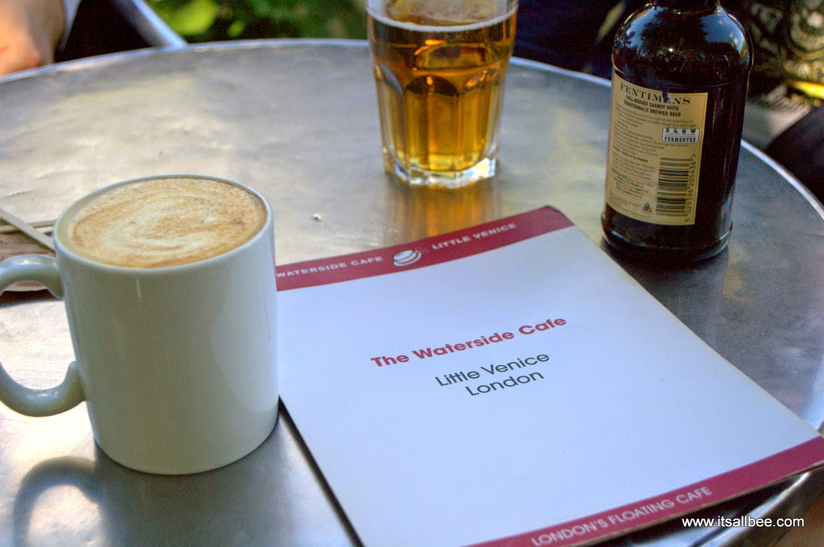 Waterside Cafe Little Venice London Warrick Avenue Paddington |Quick Guide To Little Venice In London