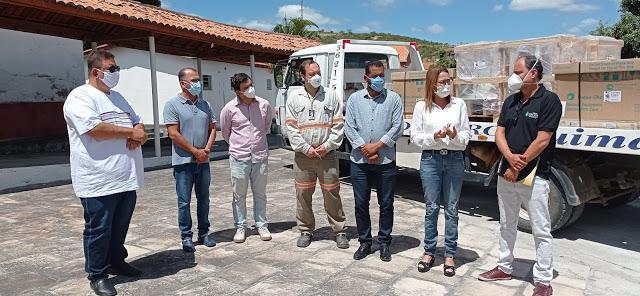 Jacobina Mineração e Comércio destina R$ 1 milhão de reais e mais 04 respiradores para o enfrentamento da COVID-19