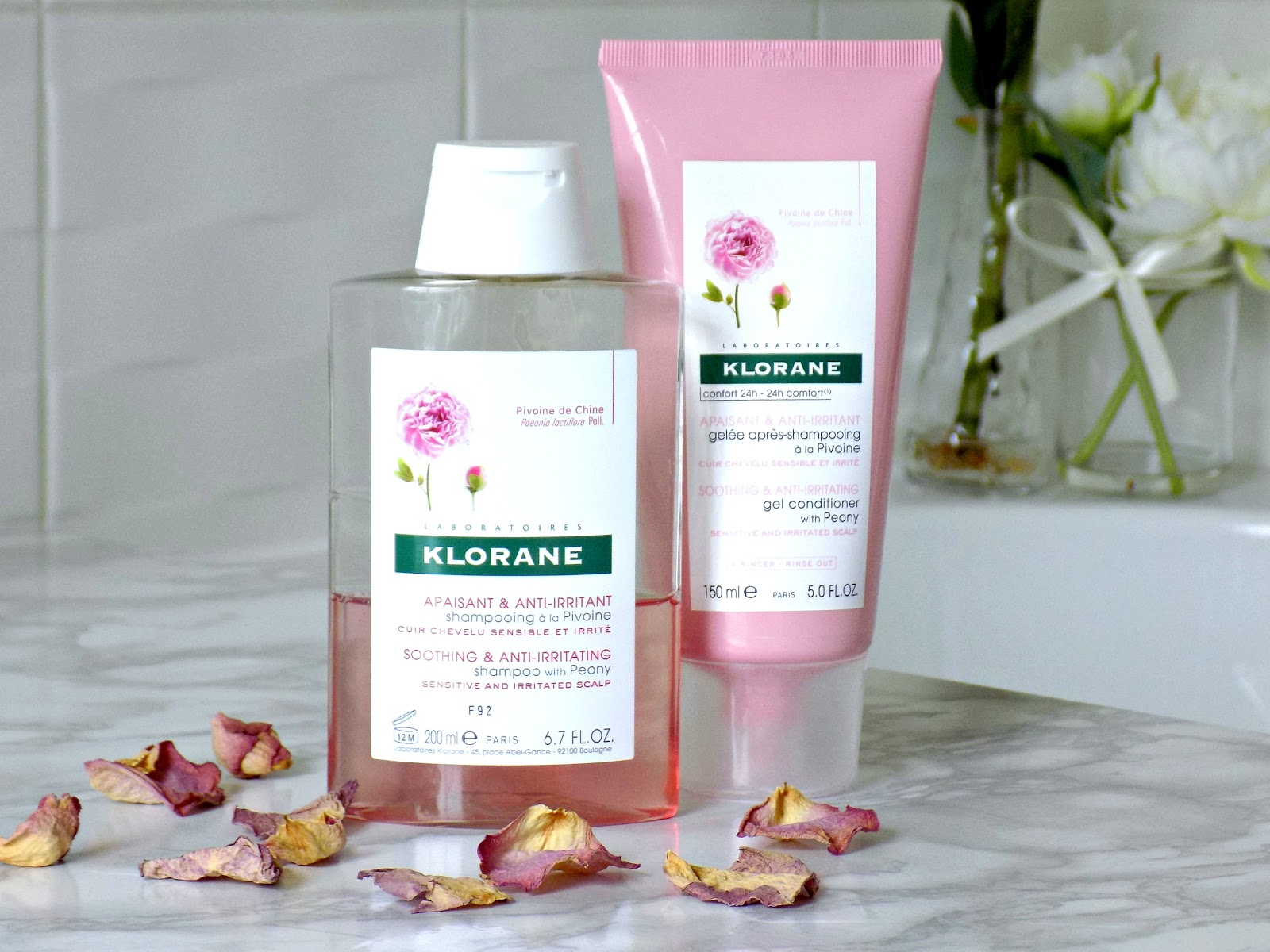 Klorane Soothing and Anti-irritating Shampoo with Peony