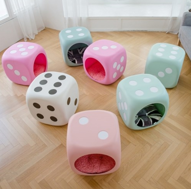 The cutest dog house, its a DICE!!