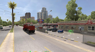American Truck Simulator COAST TO COAST MAP NEW VERSION V1.3 Map Download MODs
