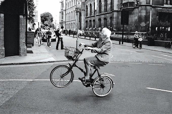 In bici contromano