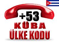 +53 Küba ülke telefon kodu