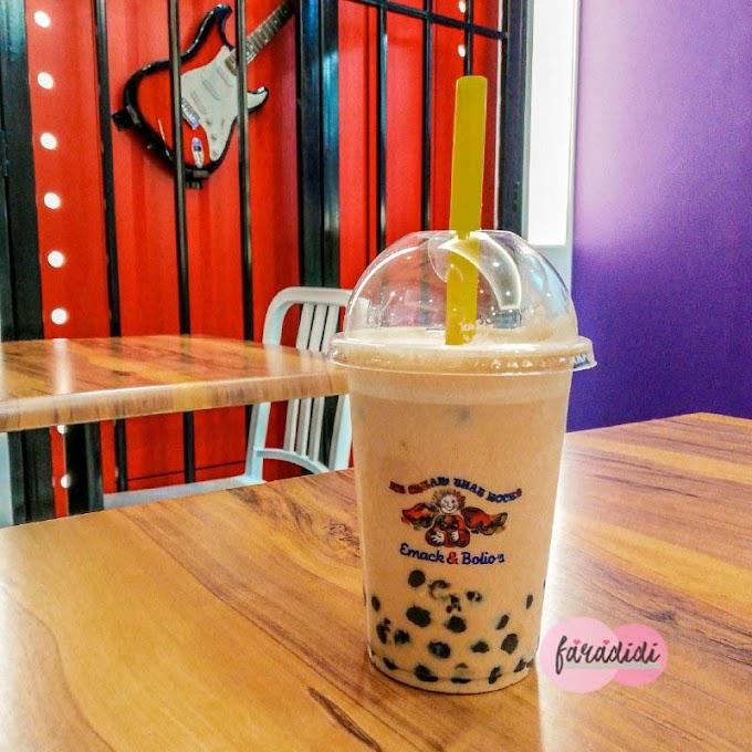 Bubble Tea Emack & Bolio's RM 6 Sahaja!