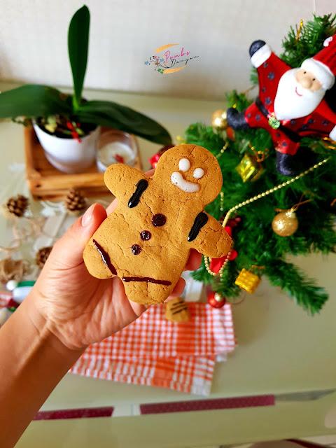 zencefilli yılbaşı kurabiyesi