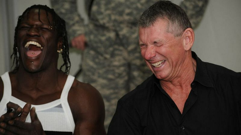 R-Truth is a Vince McMahon guy in WWE