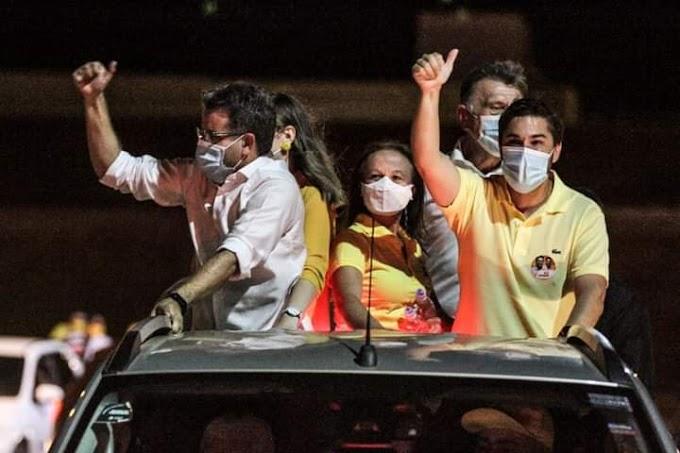 Frente Popular de Afogados da Ingazeira realizou a maior carreata da história; confira fotos e vídeos!