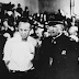 High school teacher John T. Scopes is brought to trial in Dayton, Tennessee for teaching the theory of evolution, which was prohibited under state law. July 10, 1925 (Picture)