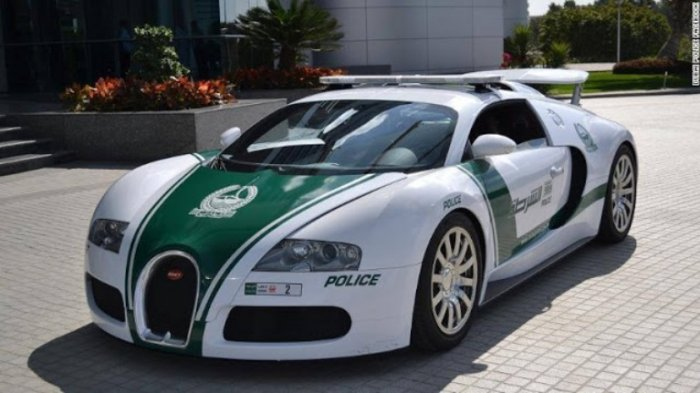 World S Fastest Police Car Can Going Up To 404 Km Hr