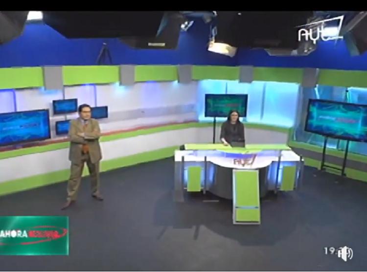 La línea del canal que fue un regalo para Evo Morales es abiertamente favorable al MAS / CAPTURA PANTALLA