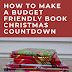 How to Make a Budget Friendly Book Christmas Countdown