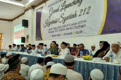 Koperasi Syariah 212 Resmi Berdiri, Spirit Aksi Bela Islam 212 Berlanjut!