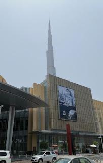 Burj Khalifa, Dubái, Emiratos Árabes Unidos. Centro Comercial Dubai Mall.