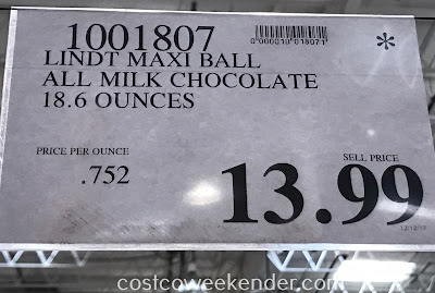 Deal for Lindt Lindor Milk Chocolate Truffles at Costco