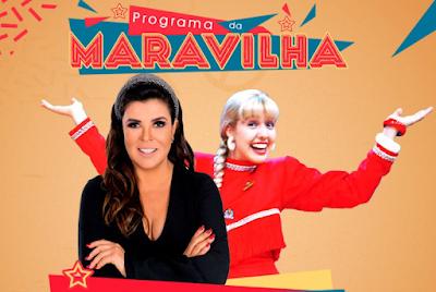 A apresentadora Mara e a convidada Mariane (Divulgação/SBT)