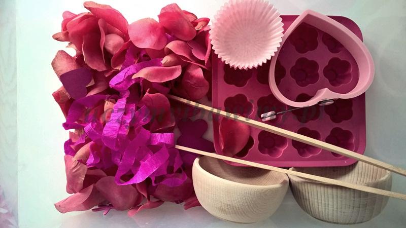 Pudełko sensoryczne - kolor różowy
