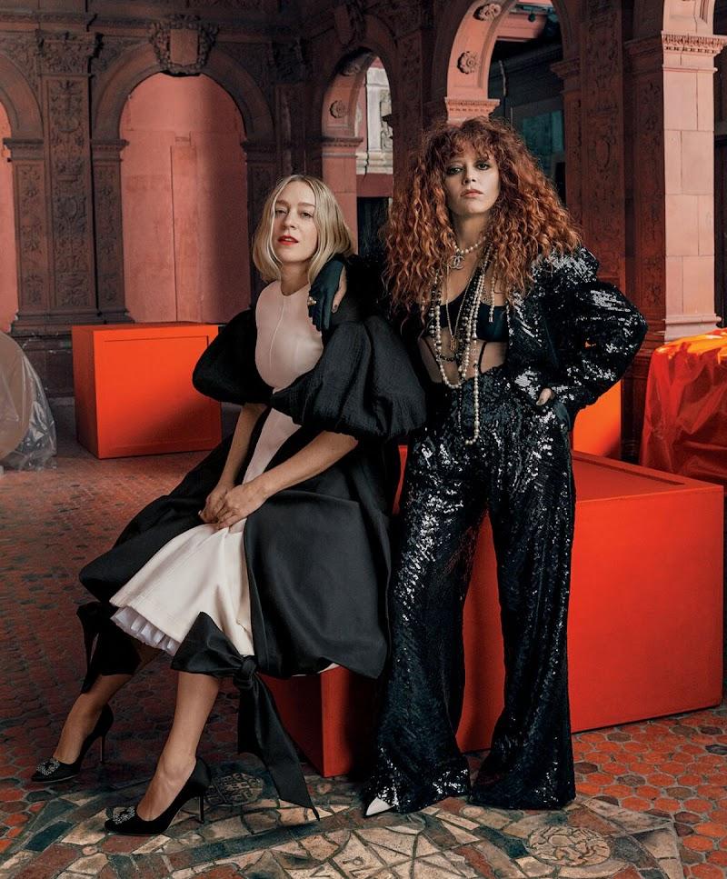 Natasha Lyonne, Chloë Sevigny in The New York Times Style Magazine -April 2021