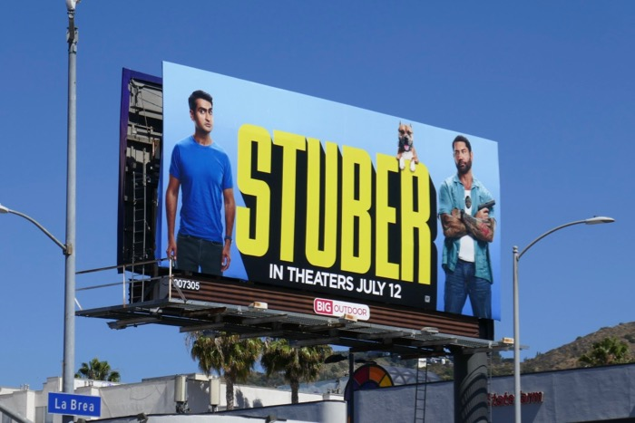 Stuber film billboard