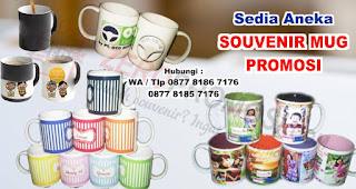 Mug Satuan merupakan salah satu rekomendasi souvenir kantor menarik untuk karyawan.