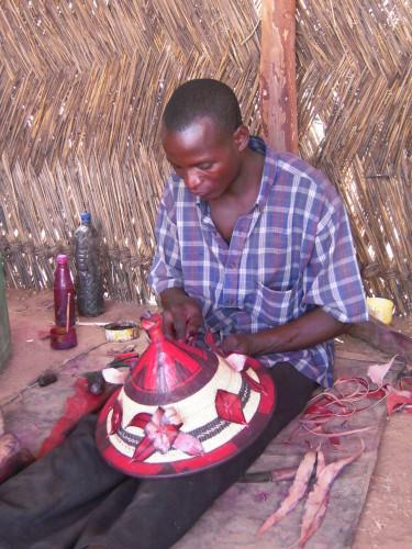 Mode, accessoire, chapeau, ethnique, soleil, sombrero, peul, berger, LEUKSENEGAL-Dakar-Sénégal-Afrique
