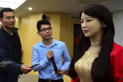 Ini Dia Robot Cantik Bernama Jiajia Dari Tiongkok