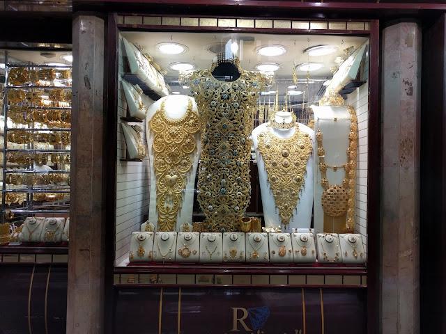 Изделия из золота в Дубае