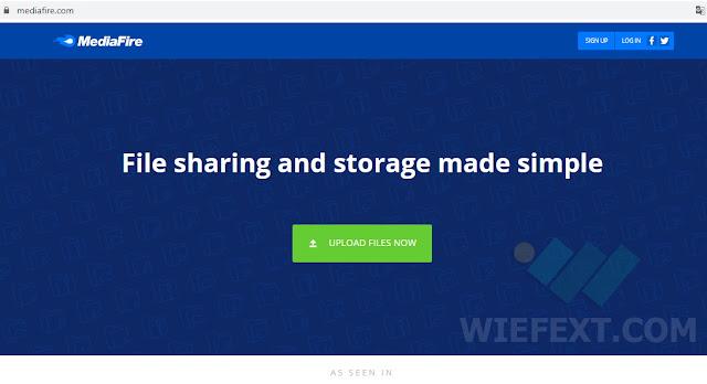 Layanan Penyimpanan Cloud Gratis di MediaFire