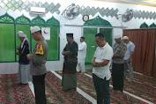 Personil Polsek Medan Helvetia Sholat Subuh Bersama Kapolres Medan