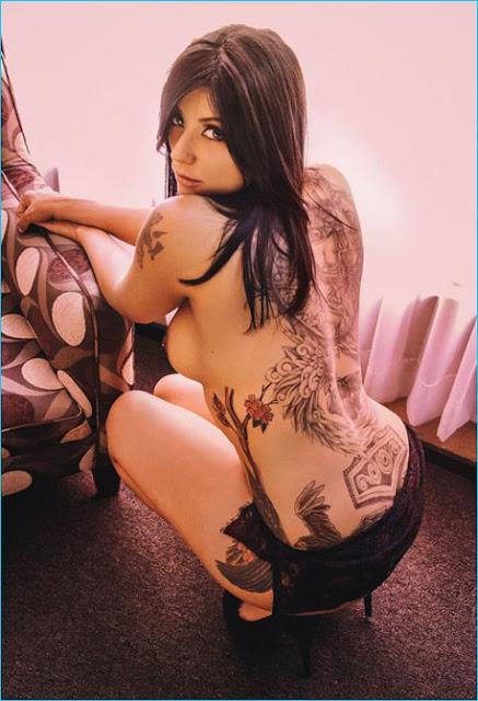 suicide girl idunn desnuda pose mexicana