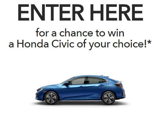 Honda Stage Music Festivals Sweepstakes