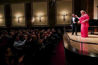 Jessica Pratt and Vincenzo Scalera at the Wigmore Hall - photo Jonathan Rose