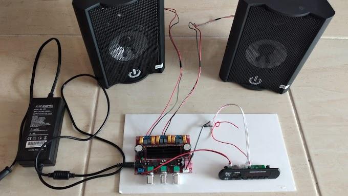 Merakit Amplifier Rumahan Class-D TPA3116D2