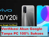 Cara Remove FRP Bypass VIVO Y20i - Verifikasi Akun Google Tanpa PC