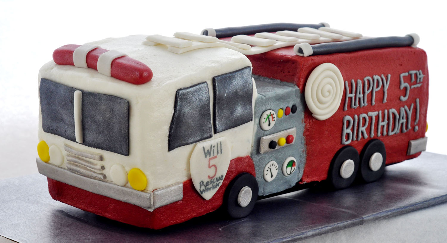 Fire Engine Cake Decorating Ideas