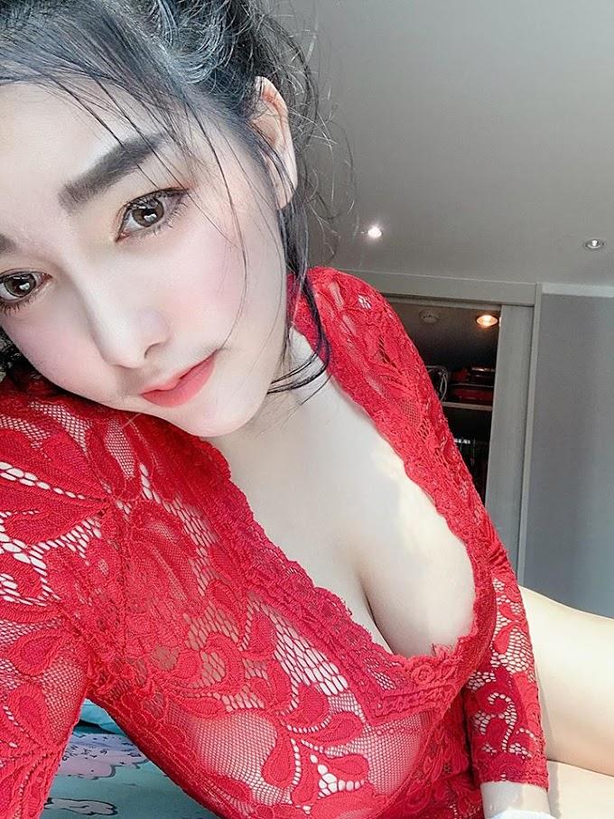 Gái xinh áo đỏ chứng tỏ vợ anh đây rồi