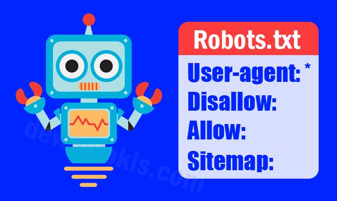 Cara Custom Robots.TXT Blogger [Robots.TXT Khusus]
