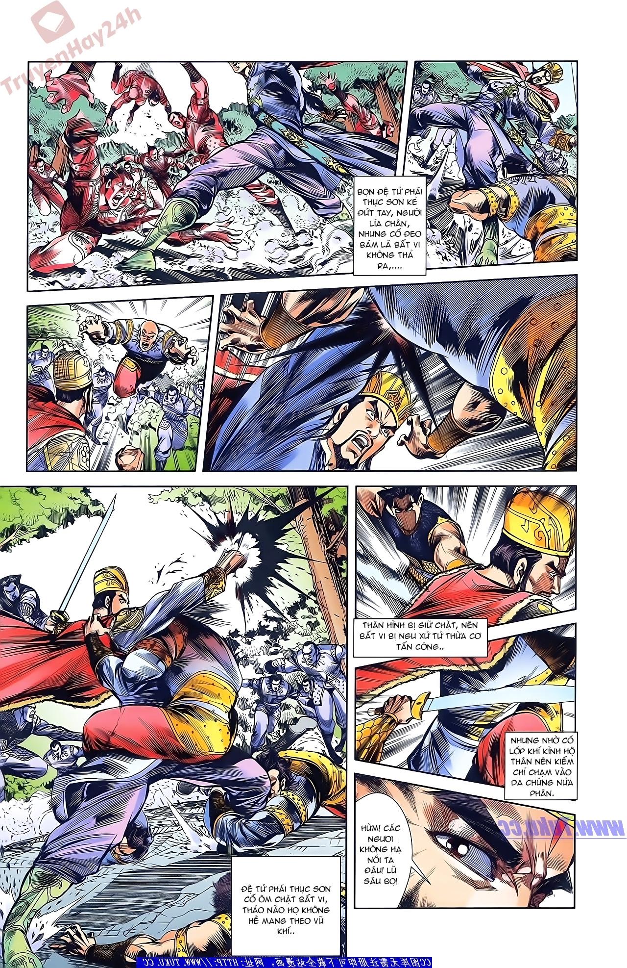 Tần Vương Doanh Chính chapter 45 trang 24