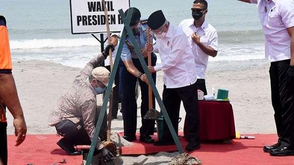 Nama Ma'ruf Amin akan Dijadikan Nama Pantai di Pariaman