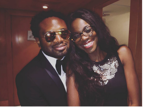 Family Is Everything Cobhams Asuquo His Wife And Son Are