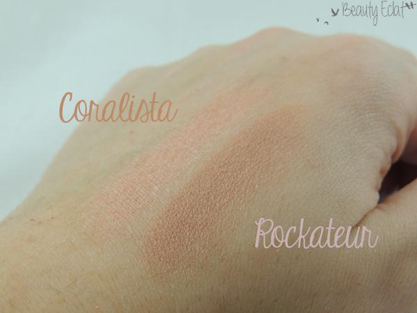 revue avis test blush benefit coralista rockateur swatch