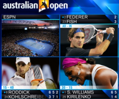Australian Open tv channels 2020
