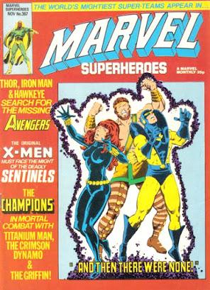 Marvel Superheroes #367, the Champions