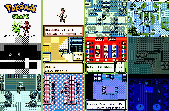 Pokemon Grape Rom Screenshots