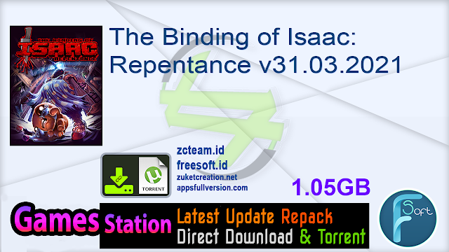 The Binding of Isaac Repentance v31.03.2021